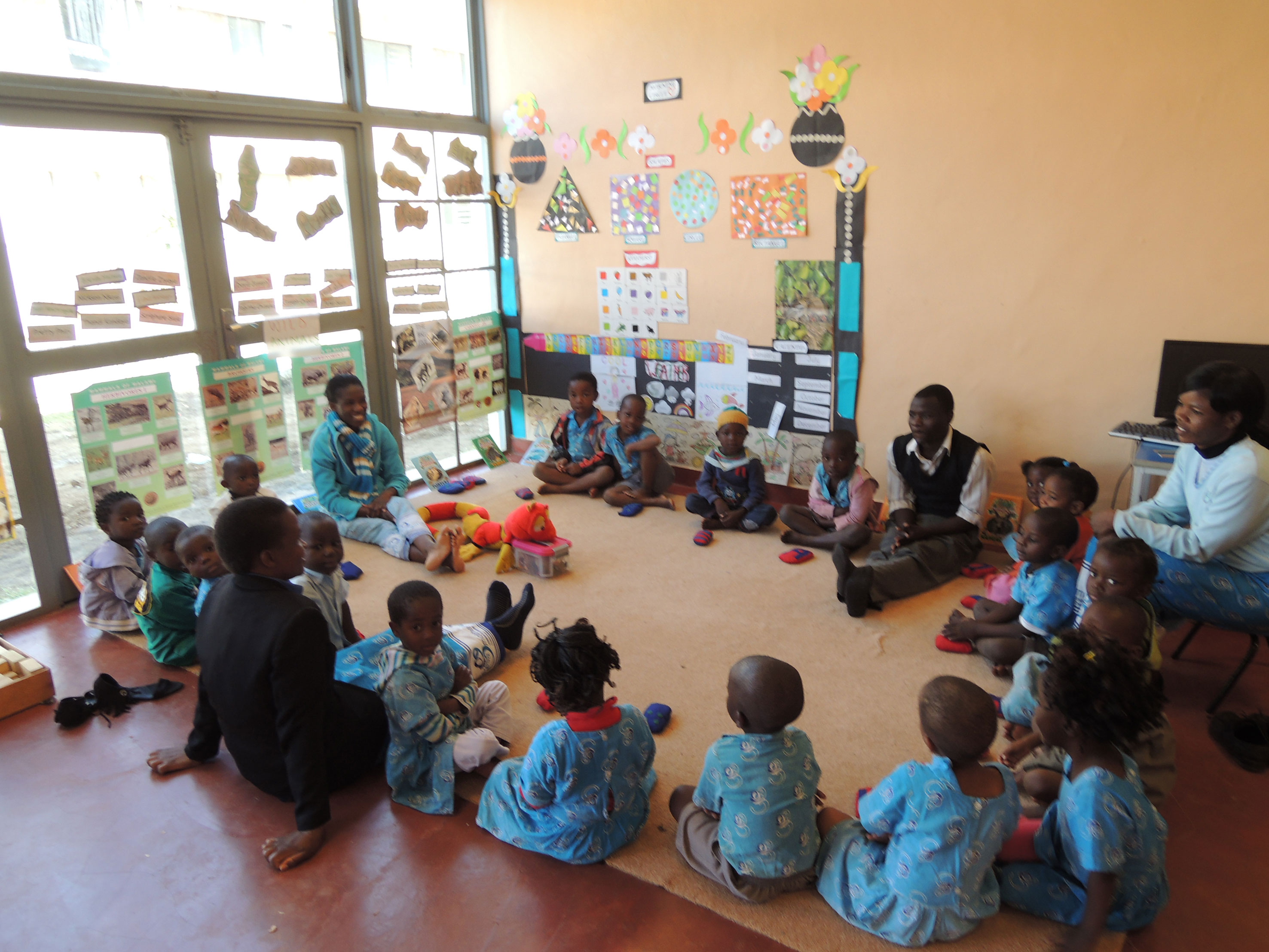 Learning in the pre-school room