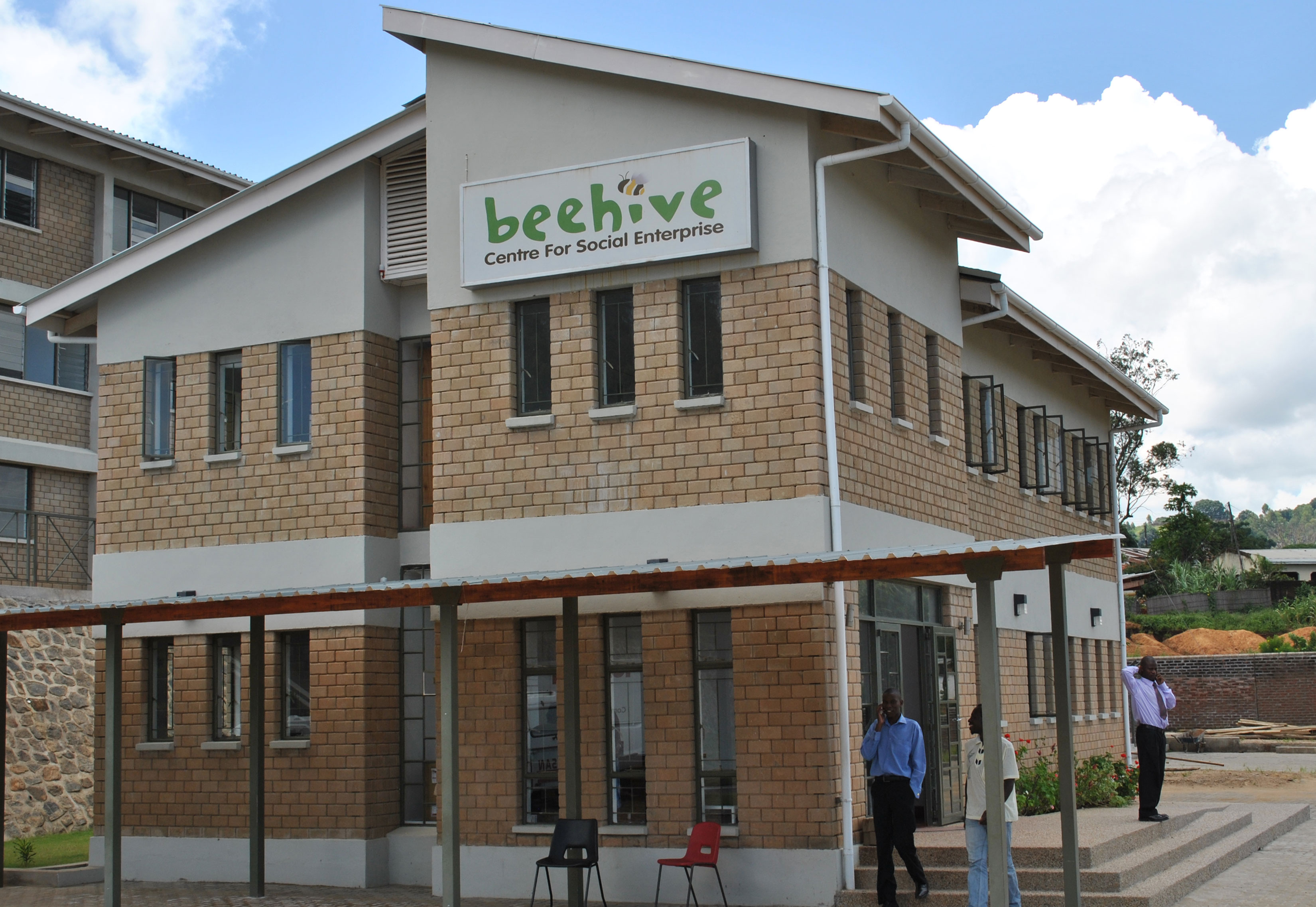 Beehive Administration building