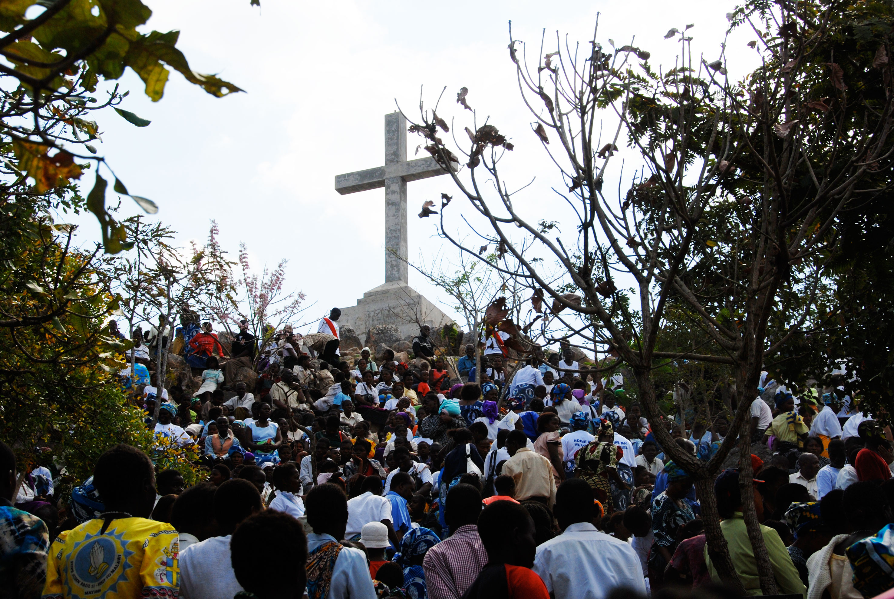The Cross on Mount Michuru