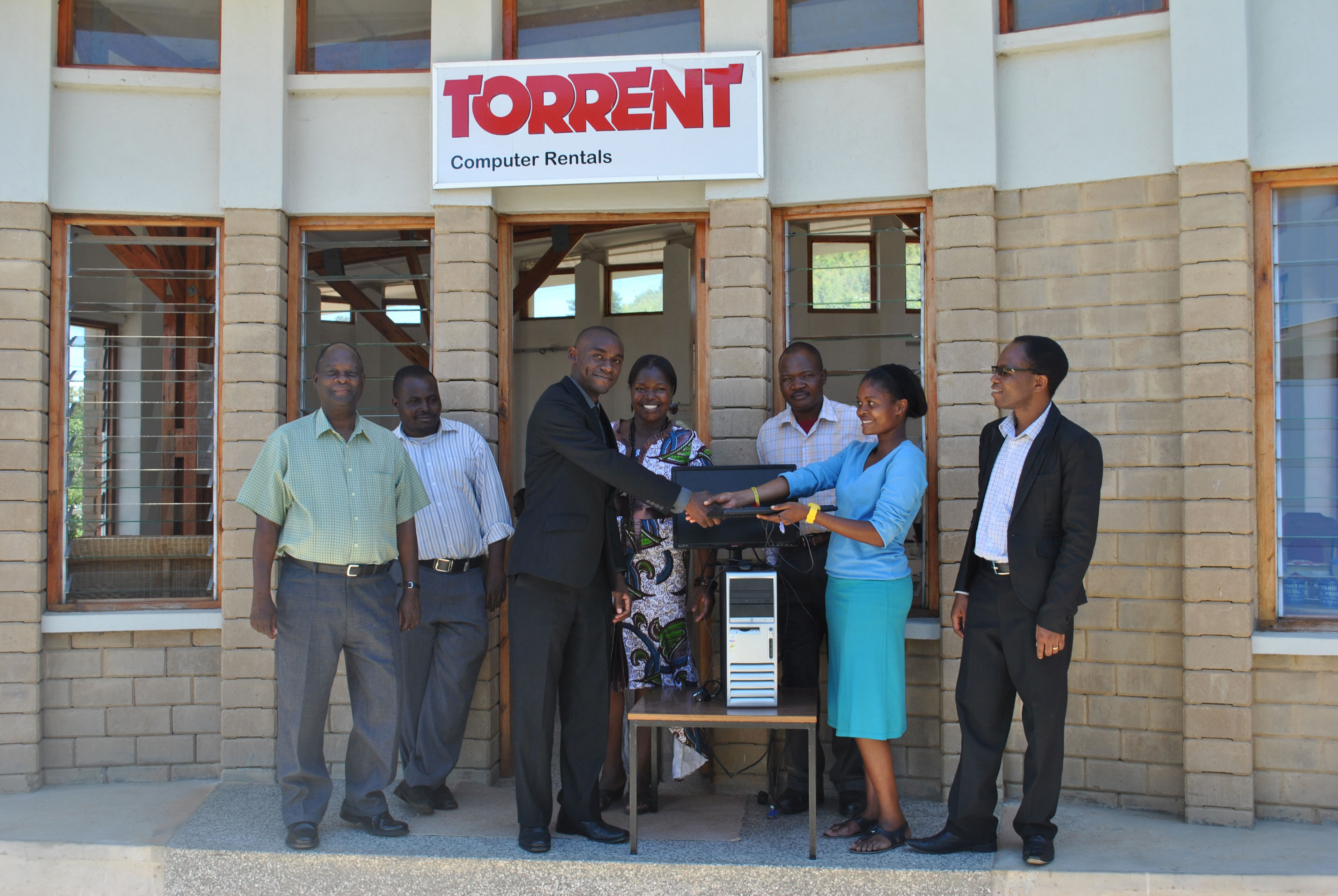 The Torrent team in their new home 2013