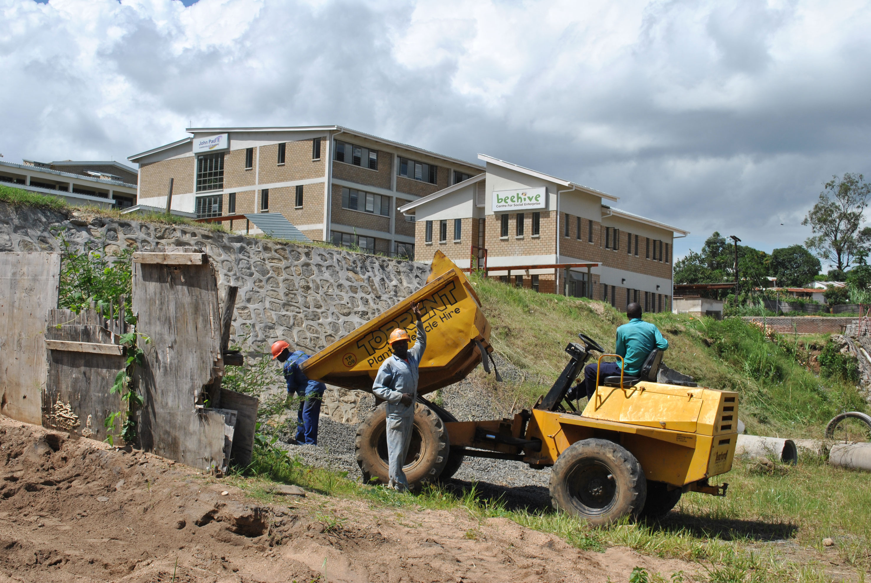 2013 ongoing work on the Beehive campus