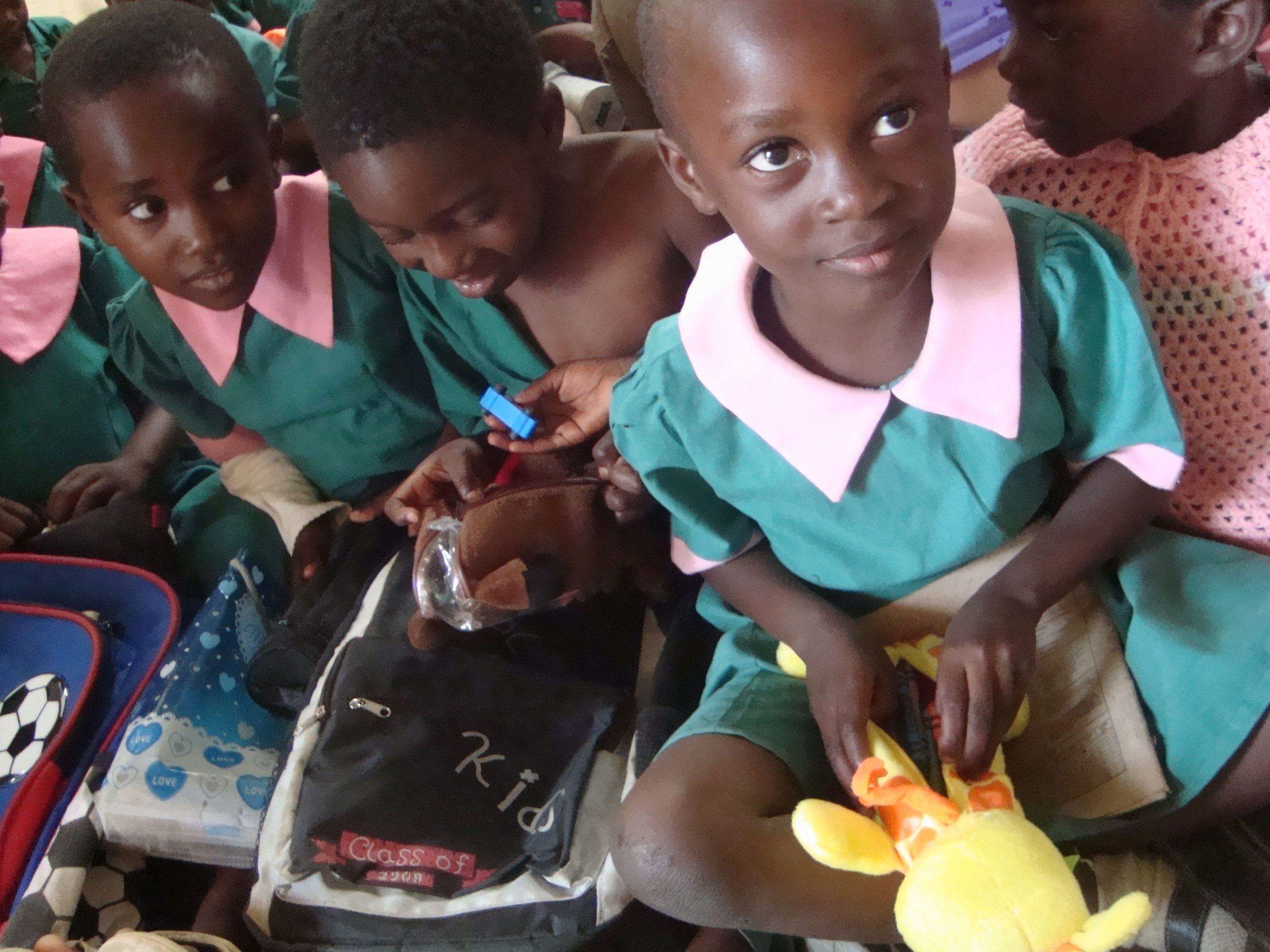 Thanks to UK schools for collecting all the pencil cases