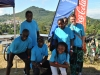 Mary's Meals bike chase team