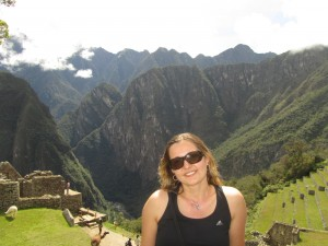 Adina squeezes in a quick visit to Peru before she leaves for Malawi