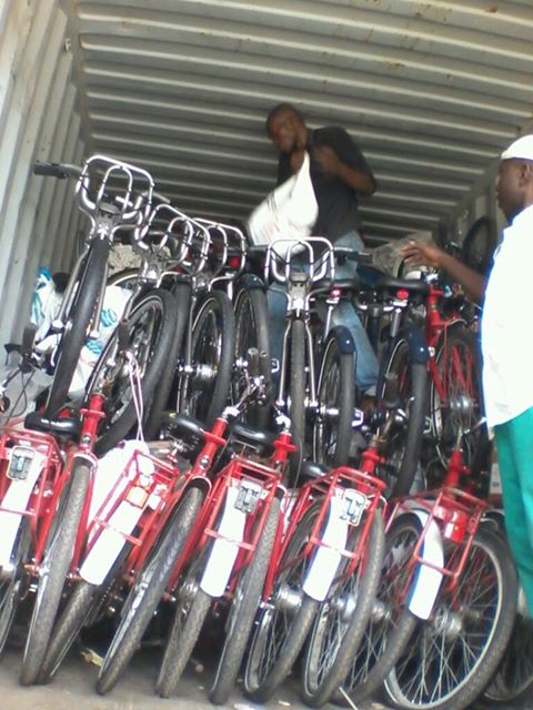 Unloading in the Warm Heart of Africa