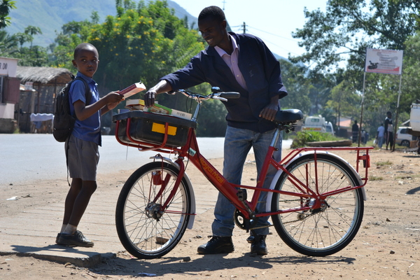 Bikes transform lives in Malawi and become a sustainable transport solution