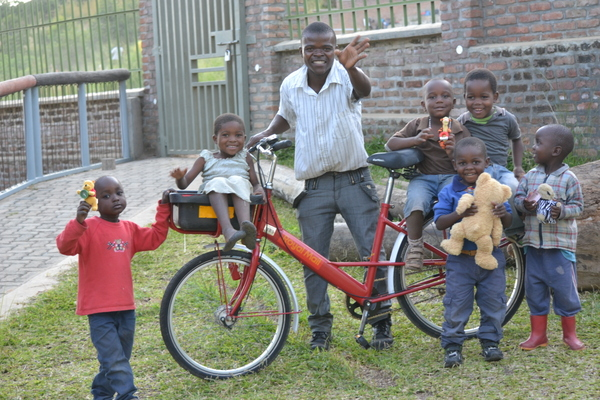 All profits from the sale of bikes in Malawi fund our very own beautiful children's centre