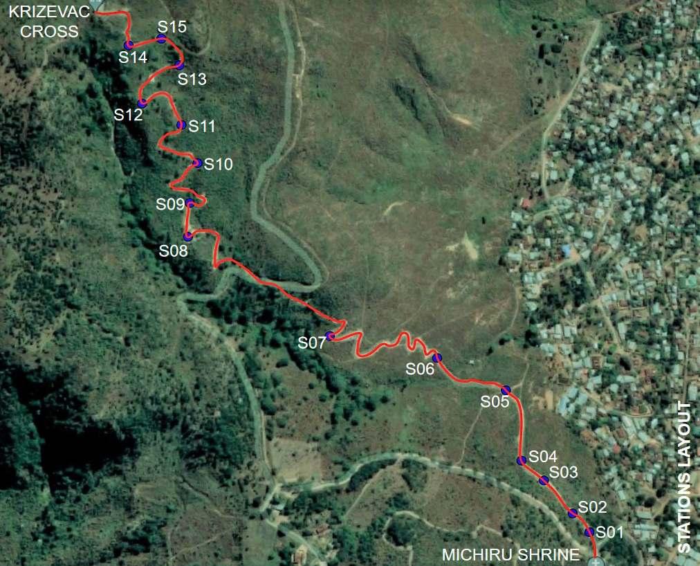 Google Maps_Way of the Cross