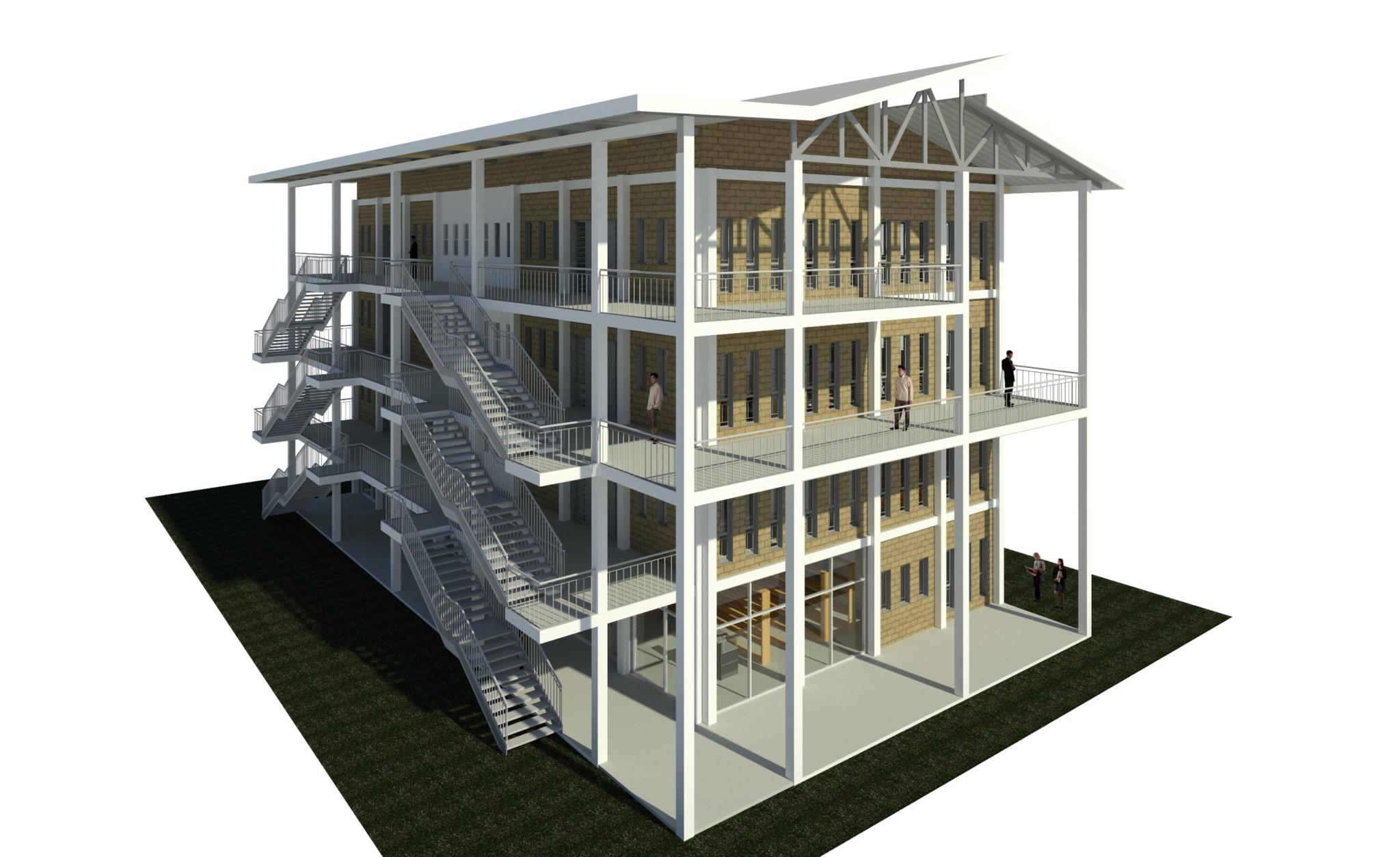 Landscape 3D View